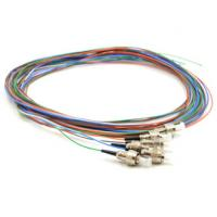 Wholesale FC / PC Optical Fiber Pigtail 6 Fiber Multi Color 3 Meters 0.9MM For WAN / LAN from china suppliers
