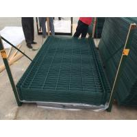 Wholesale 6 Gauge,2 inch x 6 inch,1.8 m x 2.4 m,Three peak curved welded wire mesh fence panel from china suppliers