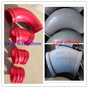 Quality Concrete pump elbow for sale