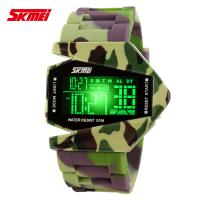 Wholesale Army Camouflage EL Backlight Digital Wrist Watch , Multifunction Outdoor Sport Watches from china suppliers