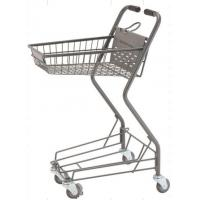 Wholesale Personal Shopping Carts Plastic Back Panel Swivel Wheels Shop Basket from china suppliers