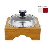 Wholesale Heat Resistant Granite Stone Cooking Pot with Bamboo stand from china suppliers