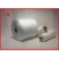 Wholesale Paper Cone Polyester Raw White Yarn For Sewing Eco - Friendly Great Strength from china suppliers