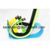 Wholesale Silicone Bracelet USB2.0 Flash Pen Drive Customized Logo Printing from china suppliers