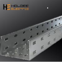 China Electro Zinc Plated Steel /Ventilated Or Perforated Trough Cable Tray From China Jiangsu on sale