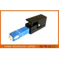 Wholesale Square Fiber Optic Adapter SC SM / MM Simplex Blue Black Fiber Optic Coupler from china suppliers