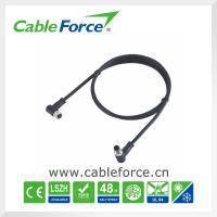 Wholesale IP67 Angled M8 Circular Connector , male to female 6 pin connector for sensor from china suppliers