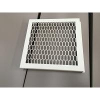 Wholesale RAL 9016 White Color PVDF Coating Punching Wave Aluminum Panel from china suppliers