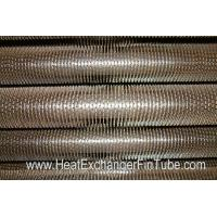 Quality U Bent Welded Spiral Evaporator Tube , SA210 Gr. C SMLS Carbon Steel Tube for sale