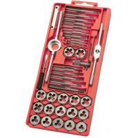 Wholesale DIN352 DIN223 Standard 40Pcs Metric Tap and Die Sets with Alloy steel , Carbon Steel from china suppliers