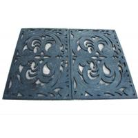 Wholesale Durable Eco Friendly Soft Rubber Door Mat , Bar Mats For Glasses from china suppliers