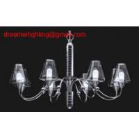 Wholesale 6 lights High quality modern glass chandelier from china suppliers