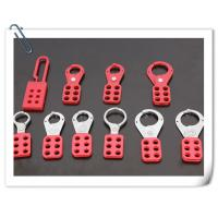 Wholesale K21/K22 Vinyl Coated  Aluminum Hasp Lockout with hook from china suppliers