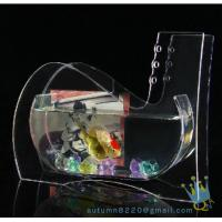 Wholesale Wedding decoration small acrylic fish tank from china suppliers