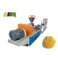Wholesale High Efficiency Plastic Pelletizing Line Equipment , Single Screw Extruder CE ISO from china suppliers