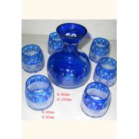 Wholesale decal, paint bottle with 6 cups drinking Stemless Wine Glass Gift Sets / Set from china suppliers
