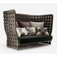 Wholesale 2013 new patio Outdoor furniture brown two-seater (LC-013) from china suppliers