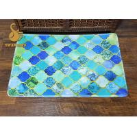 Quality Professional Washable Area Rugs , Colorful Modern Rugs Nonwoven Technics for sale