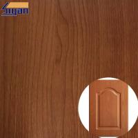 Wholesale Colorful Embossed Wood Grain Decorative PVC Furniture Film For Kitchen Cabinets from china suppliers