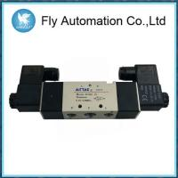 Buy cheap 5/2 Way Double Coil Pneumatic Solenoid Valves Airtac 4M320-08 4M320-10 AC220V DC24V from wholesalers