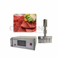 Wholesale CE Approved Meat Cutting Machine With Ultrasound Food Processing 1000 W from china suppliers