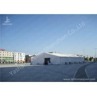 Wholesale White Outside Event Tent For Exhibition / Fashion Shows , Outdoor Tent Displays from china suppliers