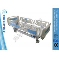 Wholesale Cold Roll Steel Hospital Electric Beds Folding Patient Bed 220V / 50hz from china suppliers