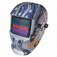 Wholesale Solar Power Auto Darkening Welding Helmet, with Sensitivity Adjustment Function from china suppliers