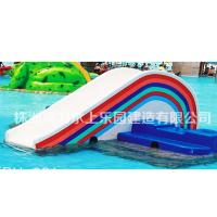 Wholesale Rainbow High Speed Water Slide nontoxic Water pool rider Holiday Resort from china suppliers