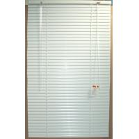 Wholesale 25mm aluminum venetian blinds for windows with steel headrail and bottomrail from china suppliers