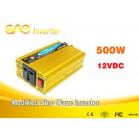 Wholesale Off grid high frequency dc to ac Car Power Inverter 12vdc to 230vac converter 500w from china suppliers