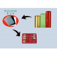 Wholesale Heat Resistant High Gloss Transparent Red Plastic Sheet Polystyrene Rolls , Extruded from china suppliers