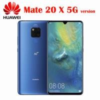 Wholesale Huawei Mate 20 X 5G Cell Phone Andorid 9.0 Kirin 980 Octa Core 8G RAM 256G ROM NFC Quick Charger 7.2 Inch 1080x2244 OLE from china suppliers