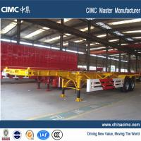 Wholesale cimc 20ft 40ft tandem axle container chassis 40 tons from china suppliers