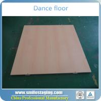 Buy cheap Wooden dance flooring cheap dance floor for sale dance floor removable from wholesalers