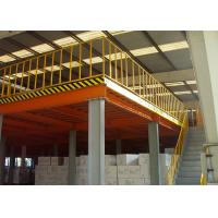 Wholesale Long Span Warehouse Mezzanine Systems , Temporary Storage Hi Level Mezzanine Floors from china suppliers