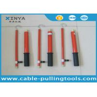 Quality ISO Safety Tools 35KV Fiberglass Telescopic Static Discharge Rod For Test KV Lever for sale