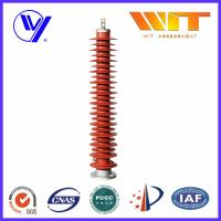 Wholesale 132KV High Voltage Substation Surge Arresters , Polymeric Lightning Protector from china suppliers