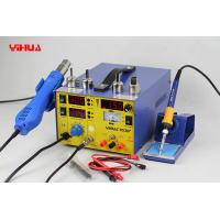 Wholesale 3 In 1 Hot Air Mobile Phone Rework Station , Lead Free Soldering Rework Stations from china suppliers