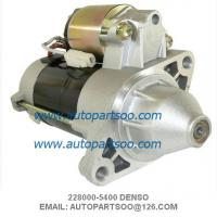 Wholesale Denso Starter Motor 228000-5400 WAI 18414N 12V 9Tooth 0.9kw Kubota Mower Front from china suppliers