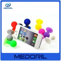 Wholesale Eco friendly silicone material mobile cell phone stand holder with suction from china suppliers
