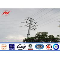 Wholesale Round Steel Power Pole Multi - Pyramidal Distribution Line Electric Utility Poles from china suppliers