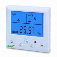 Wholesale Thermostat with 220 or 24V AC Rated Voltage, Suitable for Commercial, Industrial and Residential from china suppliers