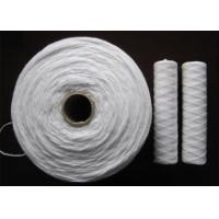 Buy cheap Non Toxic Polypropylene PP Yarn 0.8g / m And Core For String Wound Filter Cartridge from wholesalers