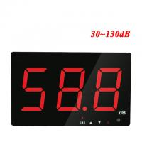 Wholesale Digital Sound level meter 30~130db large screen display Restaurant Bar Indoor/office/home Wall hanging type noise meter from china suppliers