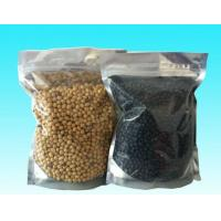 Wholesale Moisture Proof PET / PE Plastic Zipper Bags With Top Grade Printing For Soybean from china suppliers