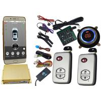 Quality Smartphone Controlled GSM Car Alarm System With Remote Start Phone App for sale