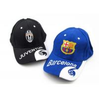 Wholesale Barcelona Blue Soccer Caps Real Madrid White Football Cap With Club Team Logo from china suppliers