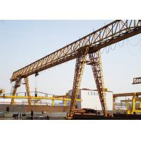Wholesale 20 Ton Electric Mobile Single Beam Gantry Crane With Cabin / Remote Control from china suppliers