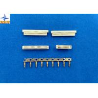 Wholesale Phosphor Bronze Pitch 1.0mm Wire To Board Connectors Dual Row With PA46 Material from china suppliers